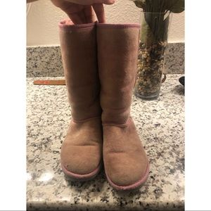 Pink UGG Boots • Size 6